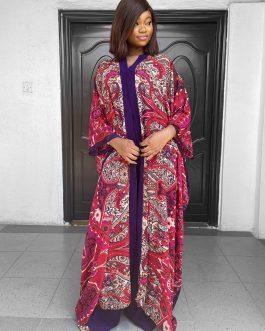 Purple Maka Kimono Set